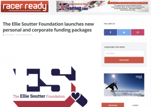 Funding Packages - The Ellie Soutter Foundation